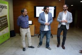 Antoni Alorda, Vicenç Vidal y Miquel Gallardo