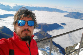 Un aventurero ibicenco en el Mont Blanc