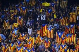 La UEFA multa al Barça con 40.000 € por las 'esteladas'