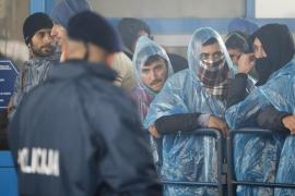Croacia abre un paso para la entrada de miles de refugiados