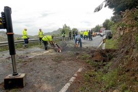 El fuerte viento derriba diez árboles en Eivissa
