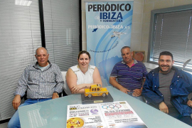 Los taxistas de Eivissa se unen para recaudar fondos contra el cáncer