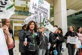 Los funcionarios pitiusos exigen al Govern cobrar el plus de carrera profesional