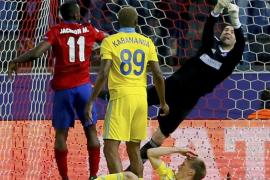 Triunfo práctico, gol de Jackson y liderato de grupo para el Atlético