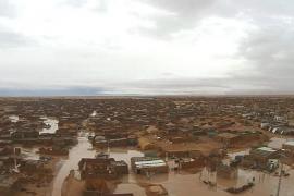 Alarma entre las familias que acogen a niños saharauis por las lluvias en Tindouf