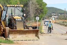 El Consell recomienda no circular por la carretera de Sant Joan durante las obras