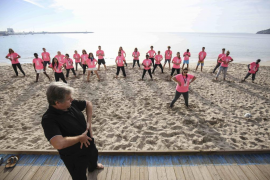 Batallón rosa de la vida sana