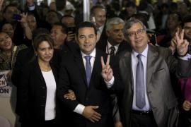 Morales alcanza la presidencia de Guatemala con una victoria histórica