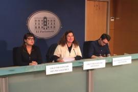 PSIB, MÉS y Podemos insisten en el diálogo para el acuerdo sobre la carrera profesional