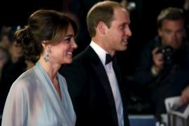 Los duques de Cambridge, en el estreno de lo último de James Bond