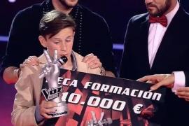 El arte flamenco de José María logra la victoria en 'La Voz Kids'