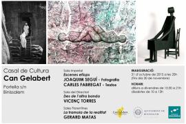 Escultura y fotografía en el Casal de Cultura de Binissalem