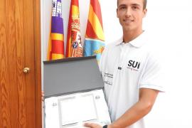 VÍDEO: Formentera rinde homenaje a su primer deportista olímpico, Mateo Sanz