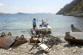 El Govern retiró entre mayo y septiembre 30,4 toneladas de residuos del litoral pitiuso