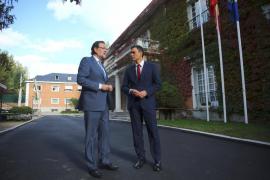 Rajoy y Sánchez trabajarán de forma coordinada por la unidad de España