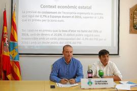 Formentera contará en 2016 con un presupuesto de 22,2 millones de euros