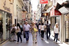 Balears encabeza el aumento de ventas del comercio en septiembre con un 7 %