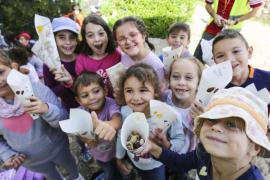 'Trencada' de frutos secos en el colegio Puig d'en Valls