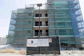 El aumento de la inversión en construcción se contrajo un 25% durante el verano en las Pitiüses