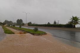 El temporal azota Eivissa