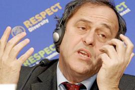 EL PRESIDENTE DE LA UEFA OFRECE UNA RUEDA DE PRENSA EN VIENA