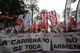 Los sindicatos de Servicios Generales convocan un calendario de protestas