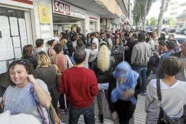 Las Pitiüses lideran el descenso del paro con 1.161 desempleados menos que hace un año