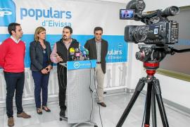 La junta directiva del PP elige a Marí Bosó y a Santi Marí como candidatos a las Cortes
