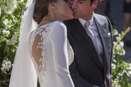 Eva González y Cayetano Rivera, casados