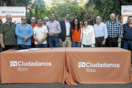 Ciudadanos se presenta en Eivissa convencidos de conseguir un diputado
