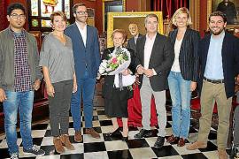 Homenaje a Lluïsa Tous i Rovira