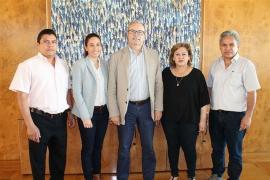 Torres recibe a los alcaldes de las ciudades de Nicaragua con las que colabora el Fons Pitiús de Cooperació