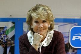 Madrid ordena dejar de pagar los recibos de la luz de Esperanza Aguirre