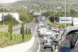 El Consell no garantiza que el desdoblamiento de la carretera de Santa Eulària comience en 2016