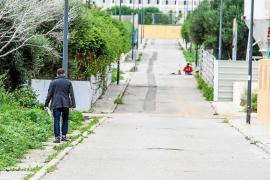La zona deportiva de Can Misses tendrá aceras en zonas sin asfaltar