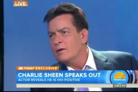 Charlie Sheen anuncia que es VIH positivo