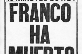 Cuatro décadas de la muerte del dictador
