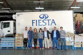 La Fundación Abel Matutes entrega de forma solidaria dos toneladas de alimentos
