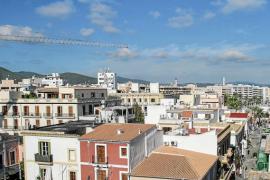Una vista de Vila desde la ciudad antigua