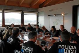 Los policías locales priorizarán la vigilancia de las zonas rurales