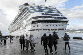 La llegada de cruceros al puerto de Eivissa será de récord en 2016, con un incremento del 28%