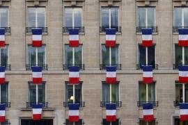 Homenaje a las víctimas del 13N en París
