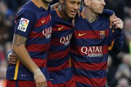 Neymar, Suárez y Messi golean a la Real Sociedad