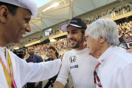 Alonso celebra que «al fin acabó el año» y dice que «ojalá todo vuelva a la normalidad»