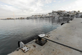 APB prevé una marina con amarres sociales donde están ahora las barcas de Formentera