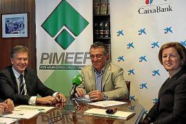 Pimeef y CaixaBank impulsarán la competitividad de las empresas pitiusas