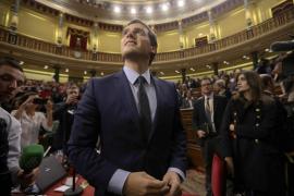 """Rivera se da un baño de masas en su """"estreno"""" en el Congreso"""