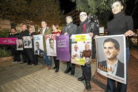 Pistoletazo de salida en s'Alamera a  la campaña electoral más reñida