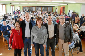 Armengol: «Si Pedro Sánchez es presidente de España, Balears y las Pitiüses ganan»