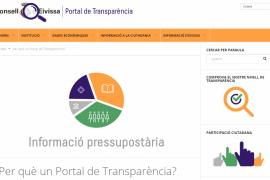 El portal de Transparencia del Consell de Eivissa ya está operativo